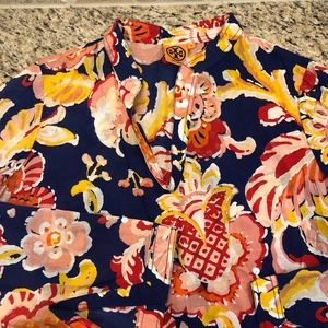 Tory Burch Floral Tunic